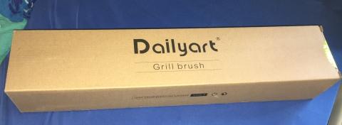 Dailyart - Edelstahl BBQ Grillbürste  Verpa192