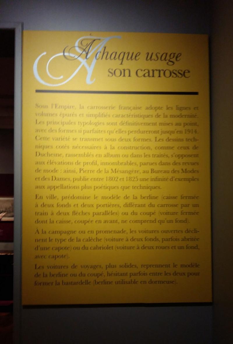 Exposition Carrosses à Marmottan (Boulogne-Billancourt) 20160163