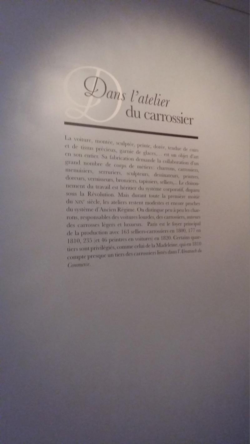 Exposition Carrosses à Marmottan (Boulogne-Billancourt) 20160750
