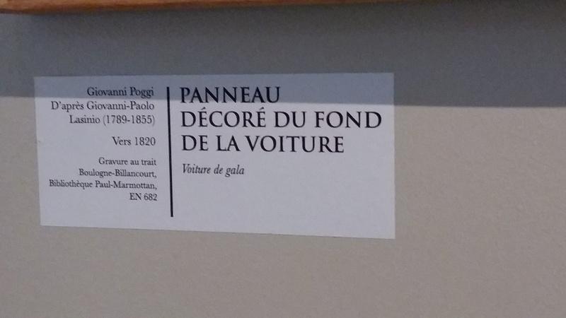 Exposition Carrosses à Marmottan (Boulogne-Billancourt) 20160756