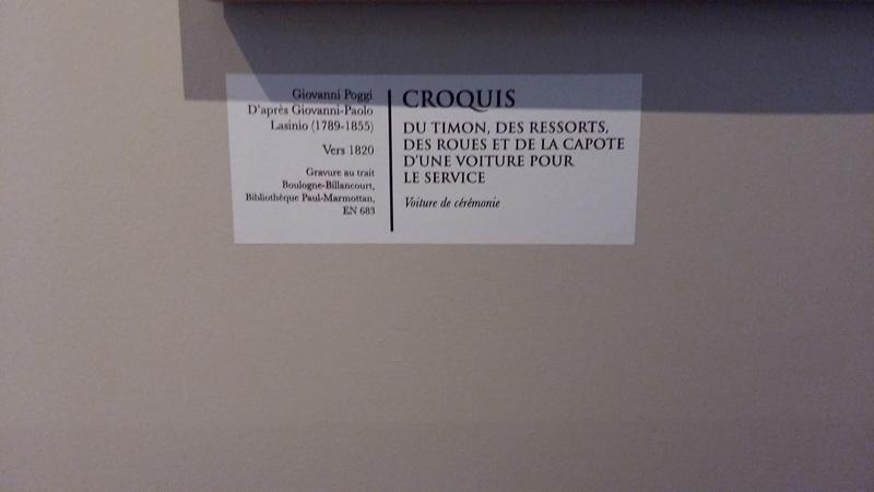 Exposition Carrosses à Marmottan (Boulogne-Billancourt) 20160760