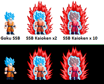 Sprites of charakters - Page 5 Goku_s10