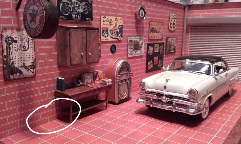"""Garage  d""""un nostalgique de la route 66 terminé Image23"""