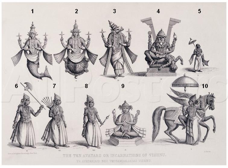 Avatar piccola spiegazione sui 10 principali avatar di Visnu I-10-a10