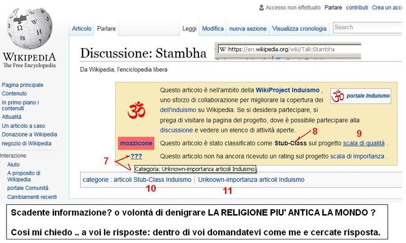 Wikipedia è tele guidata da schiavismo e razzismo culturale? Sacden10