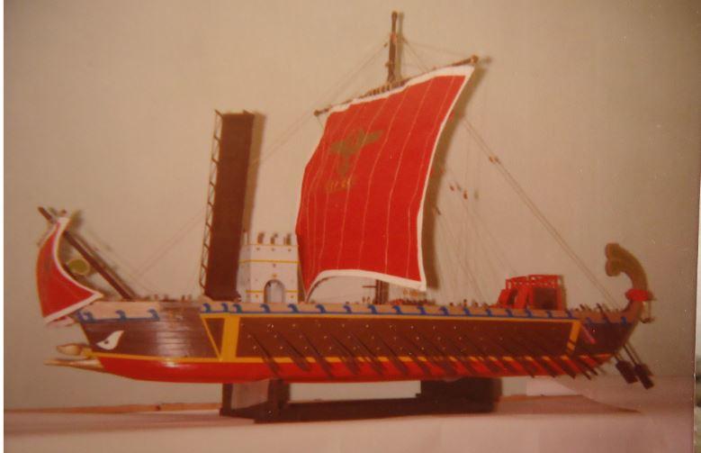 nave - Nave Romana Hachette - Diario di Costruzione Capitan Mattevale - Pagina 5 Tiber10