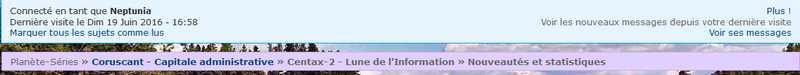 Les fonctionnalités et le codage du forum - Page 2 Forum110