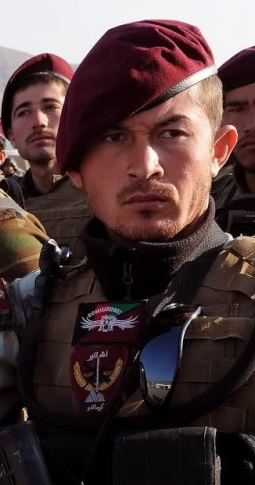 د افغان ملي اردو Ou L' Afghan National Army Maroon10