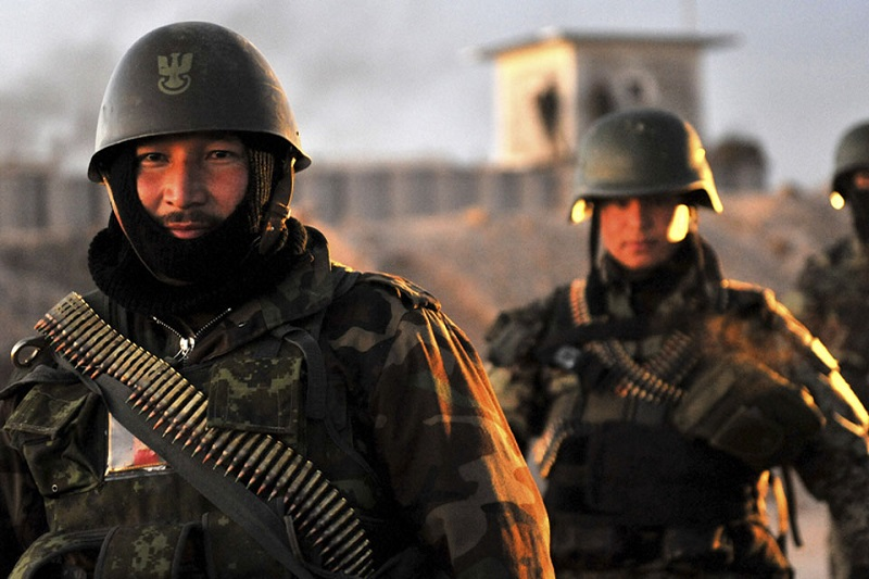 د افغان ملي اردو Ou L' Afghan National Army Polish10