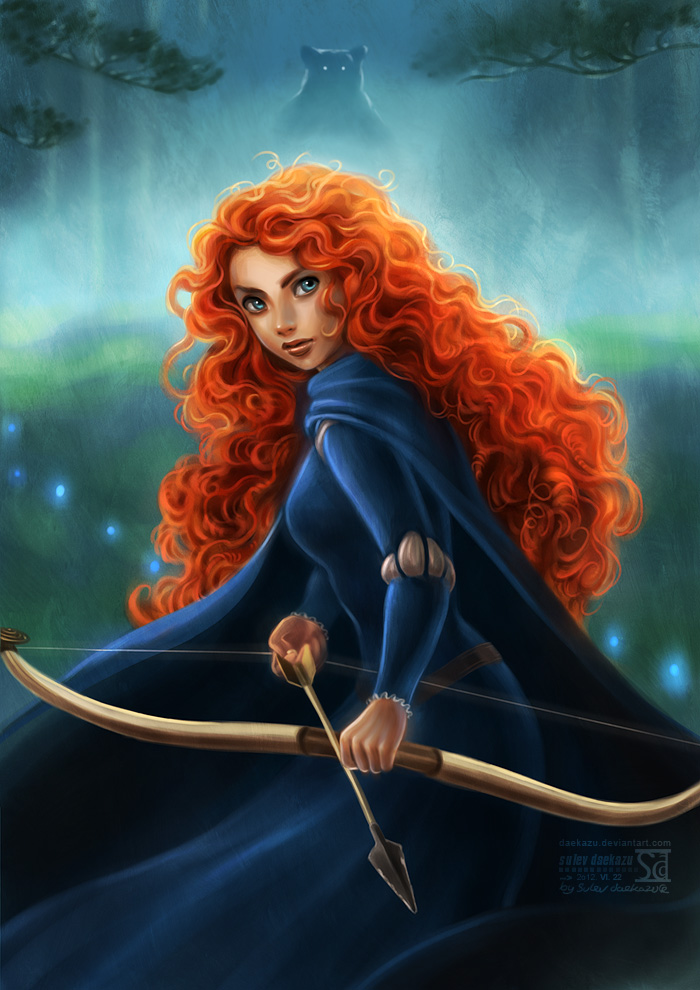 Fan art Disney Brave_10