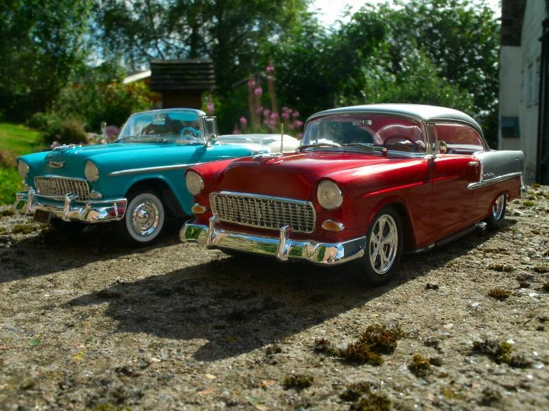 1955 Chevrolet Bel Air duo build 00711