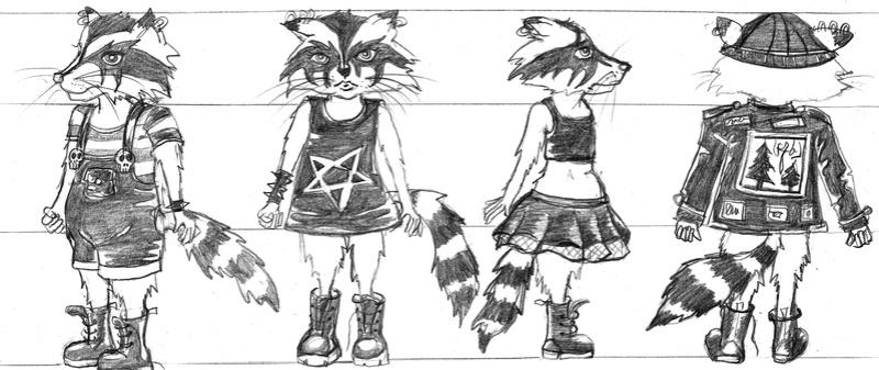SUMMER CHALLENGE : la création d'un personnage mi homme/femme, mi animal - Page 2 Aryhku11