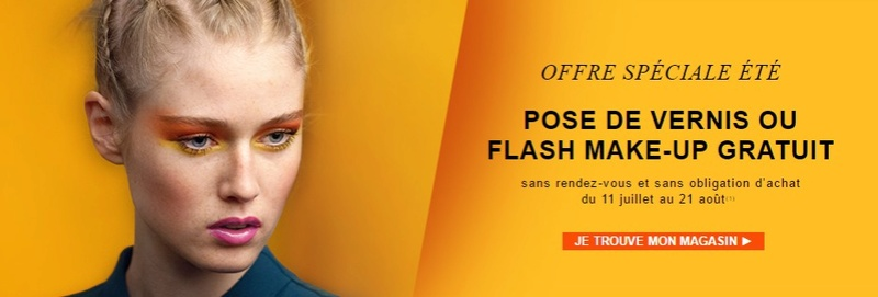 Marionnaud Pose de Vernis ou Flash Make Up Gratuit Marion10