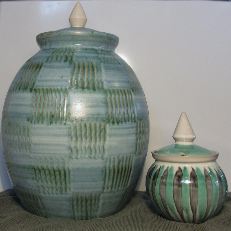 Some of my Hanmer Pottery 2010