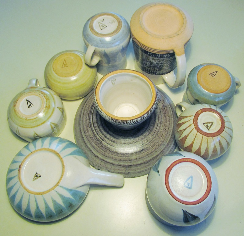 Some of my Hanmer Pottery 2710