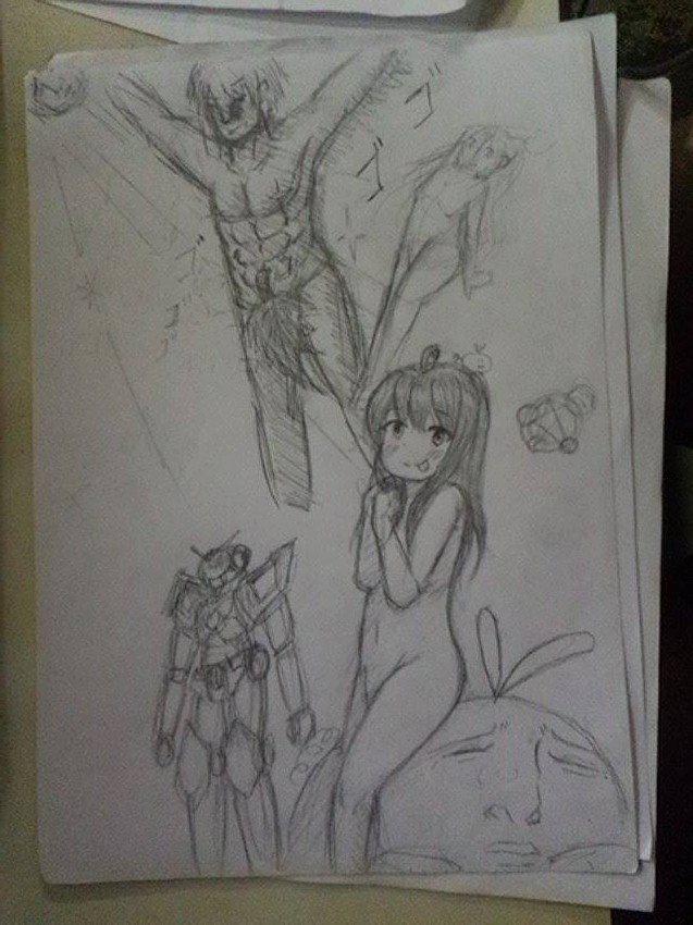 Process of bad drawings 13001210