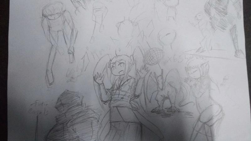 Process of bad drawings 14159211