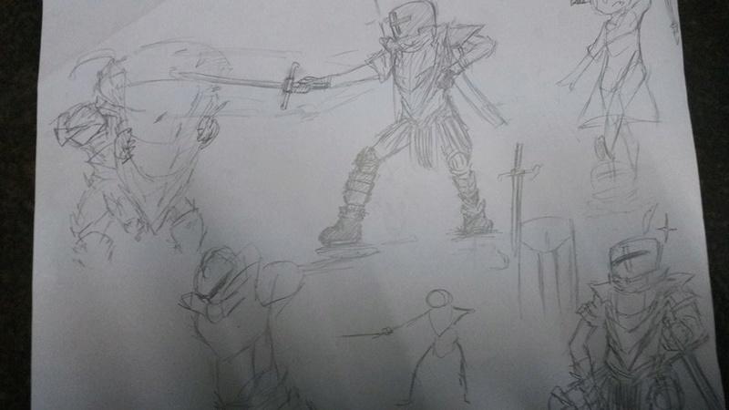 Process of bad drawings 14182511