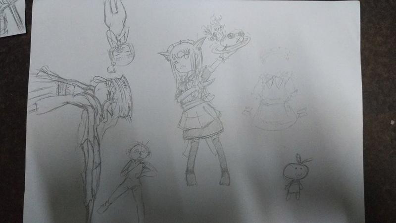Process of bad drawings 14193511