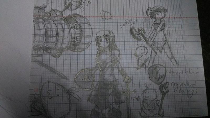 Process of bad drawings 14194511