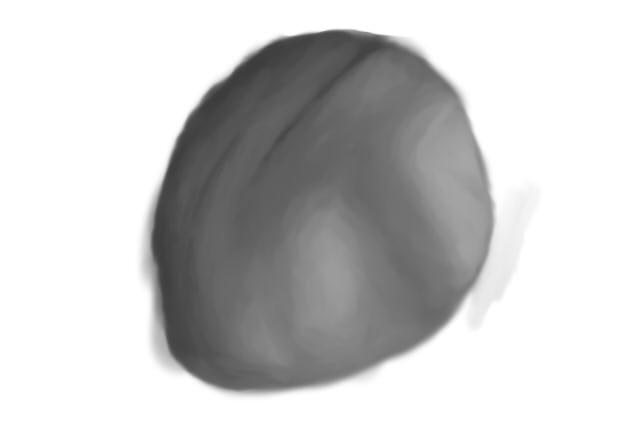 Process of bad drawings Rock-111