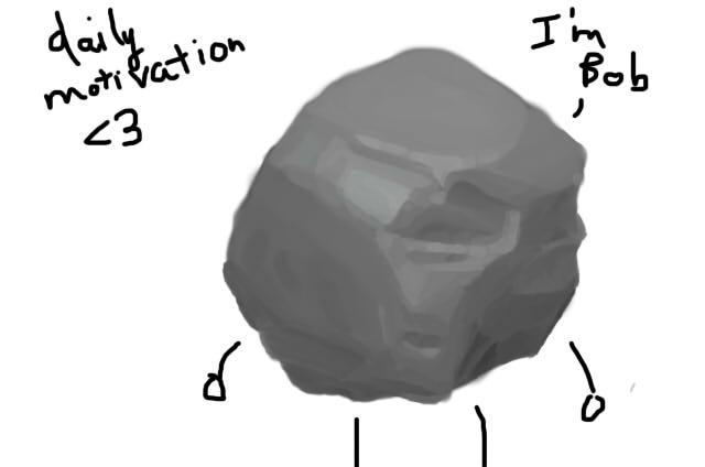 Process of bad drawings Rock-112