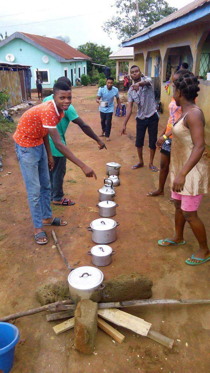 (Photo) See what High Price of Kerosene is causing the students of Polyunwana 13580510