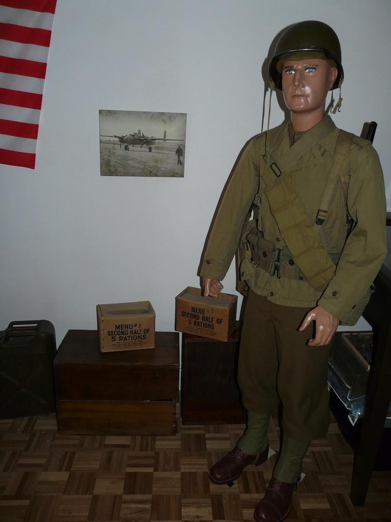 US WW2, casque+mannequin  P1150410
