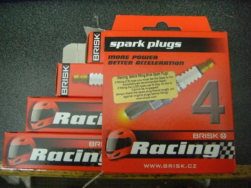 Brisk LGS spark plugs. Has anyone else tried them? Cimg3210