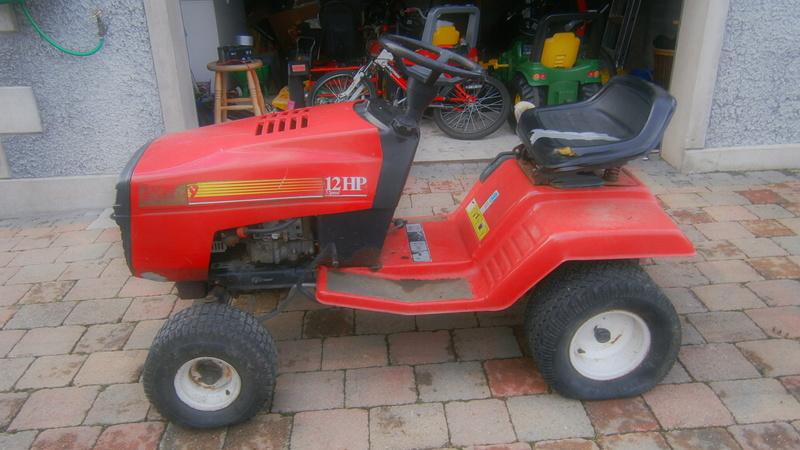 Craftsman Lawn Rider? Pa050111