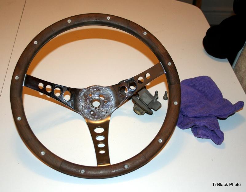 steering chrome/bois a vendre 1-stee10