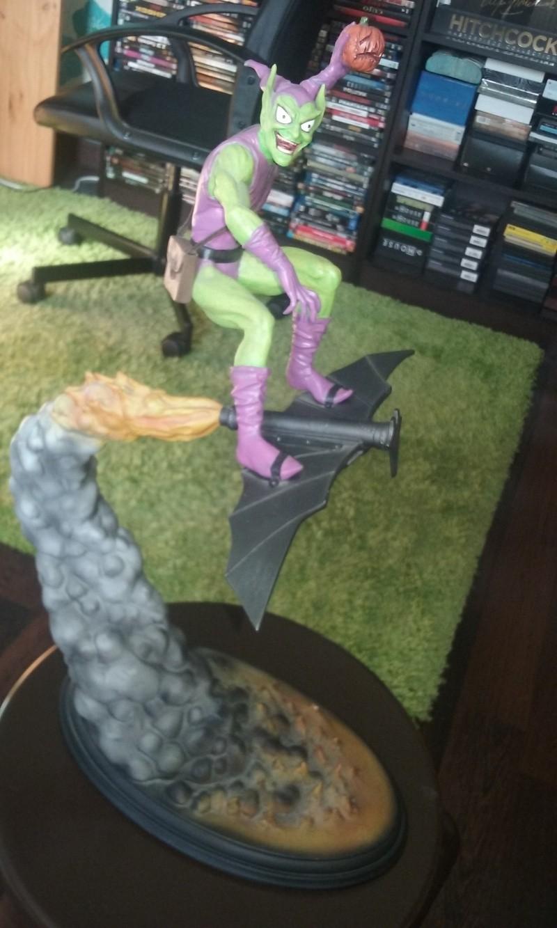 """BOUFFON VERT """"medium diorama"""" (Green Goblin) Figuri41"""