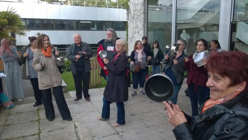 La députée Laurence Abeille et la loi travail Mairie10