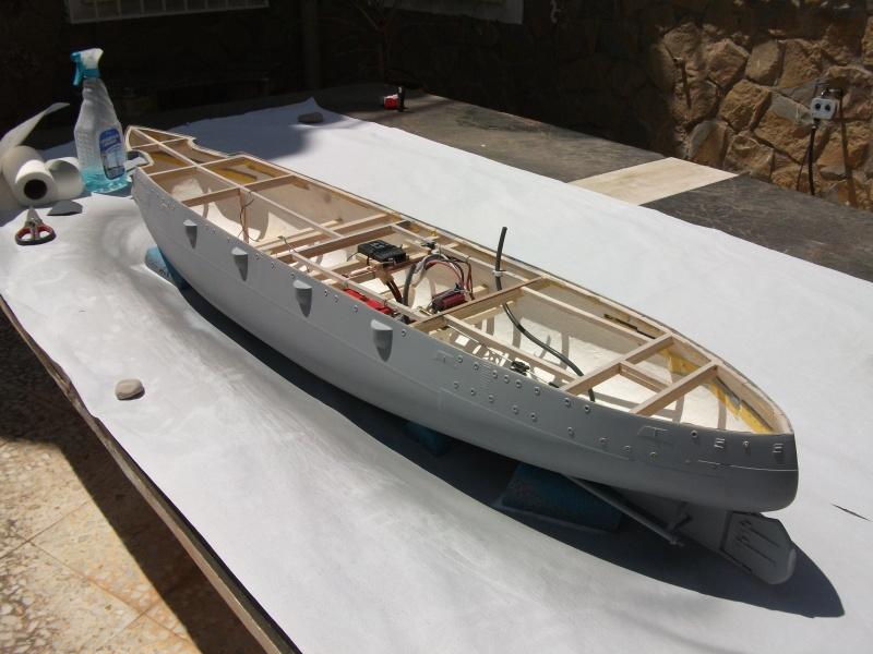 HMS HANNIBAL 1/96  (Predreadnought) DEAN'S MARINE Dscf2216