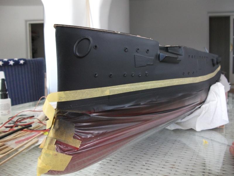 HMS HANNIBAL 1/96  (Predreadnought) DEAN'S MARINE Dscf2219