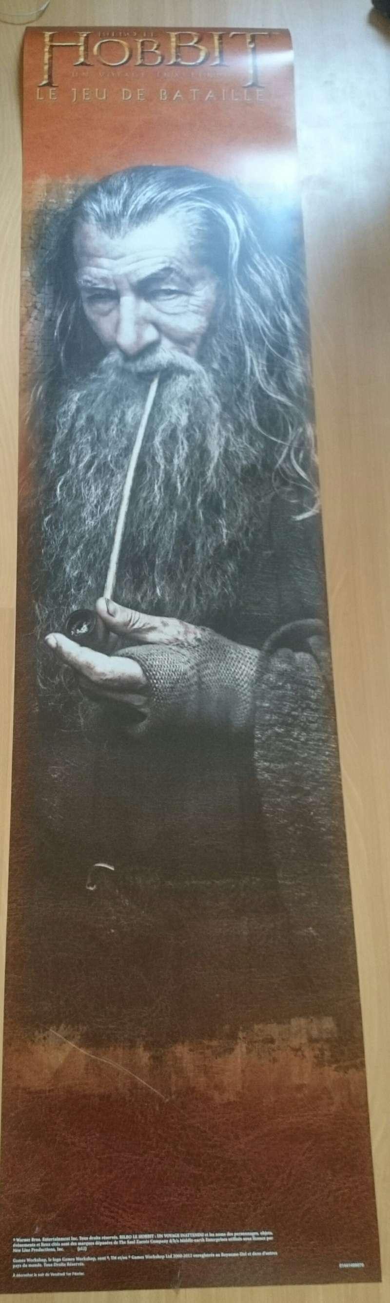 Poster Le Hobbit - Le jeu de bataille Img_2010