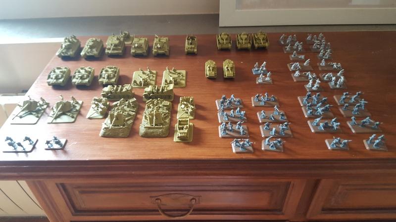 Mon début d' armée FoW 20160710