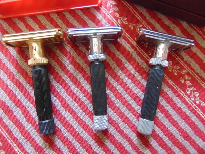 Les différent modèles de rasoirs Gibbs. Dsc04212