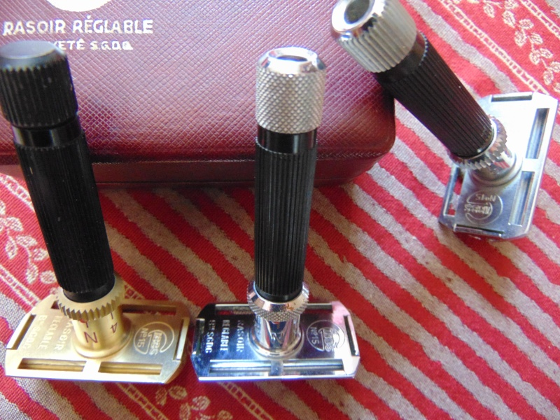 Les différent modèles de rasoirs Gibbs. Dsc04213