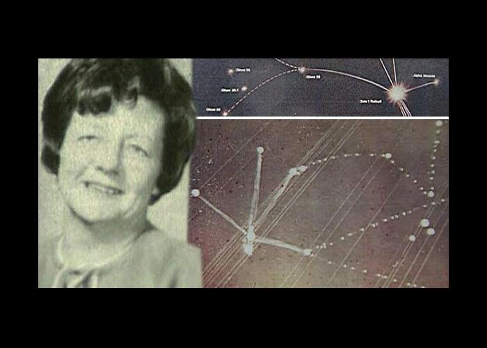 Une femme «enlevée» par les extraterrestres il y a 50 ans dessine le lieu exact où ils habitent Sans_104