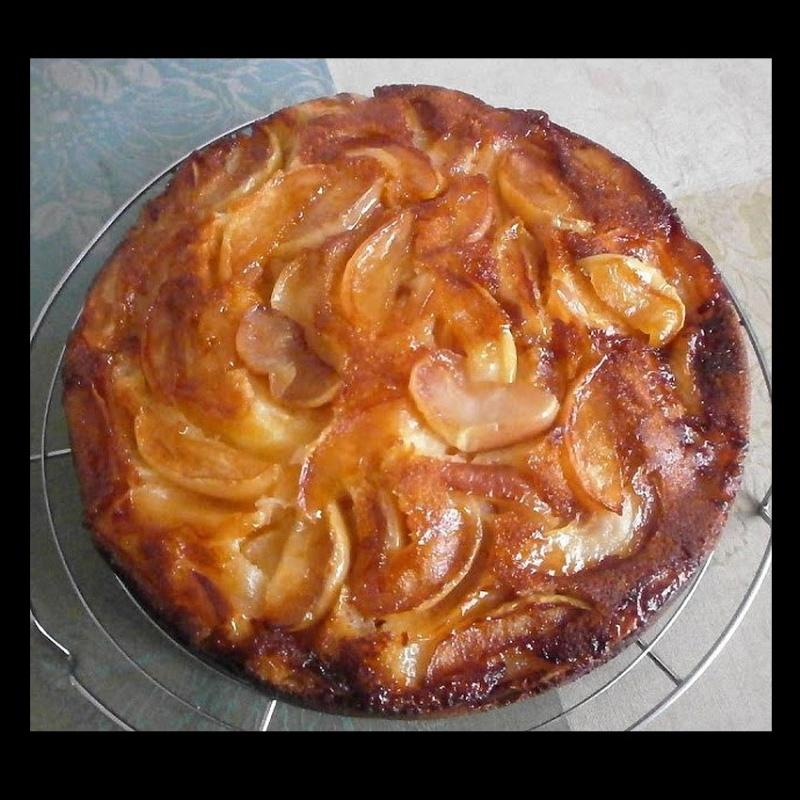 Recette Gâteau aux Pommes Caramélisées Sans_236