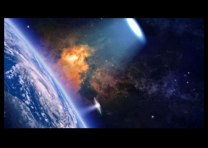 La Nasa interrompt sa retransmission en direct lorsqu'un objet étrange pénètre dans l'atmosphère de a terre Sans_339