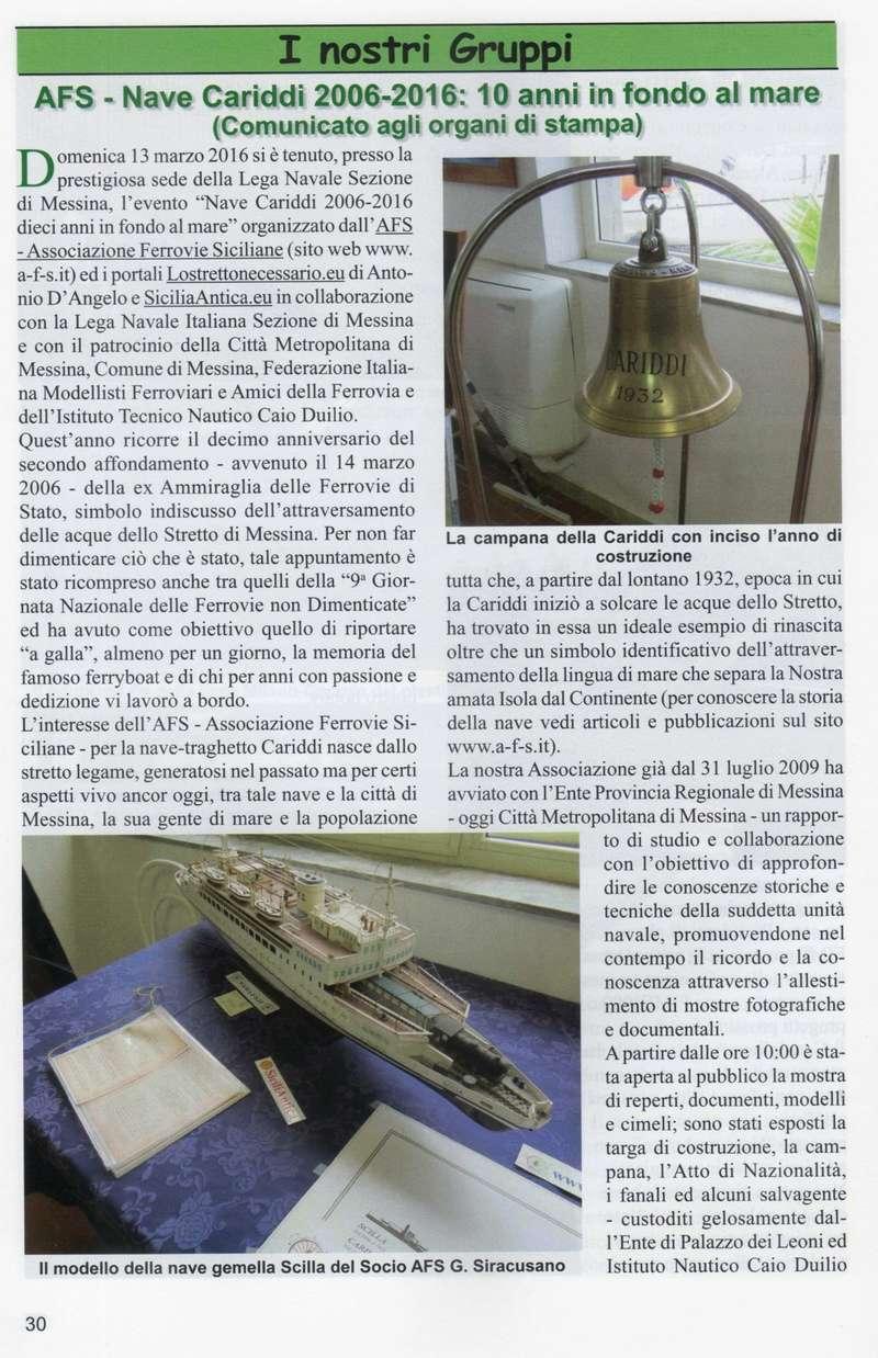 """13 marzo 2016 -  Convegno Nave Cariddi """"2006-2016"""" - 10 Anni in fondo al mare Bollet11"""