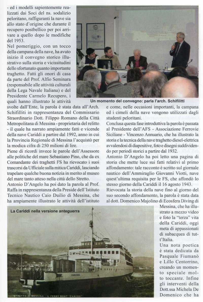 """13 marzo 2016 -  Convegno Nave Cariddi """"2006-2016"""" - 10 Anni in fondo al mare Bollet12"""