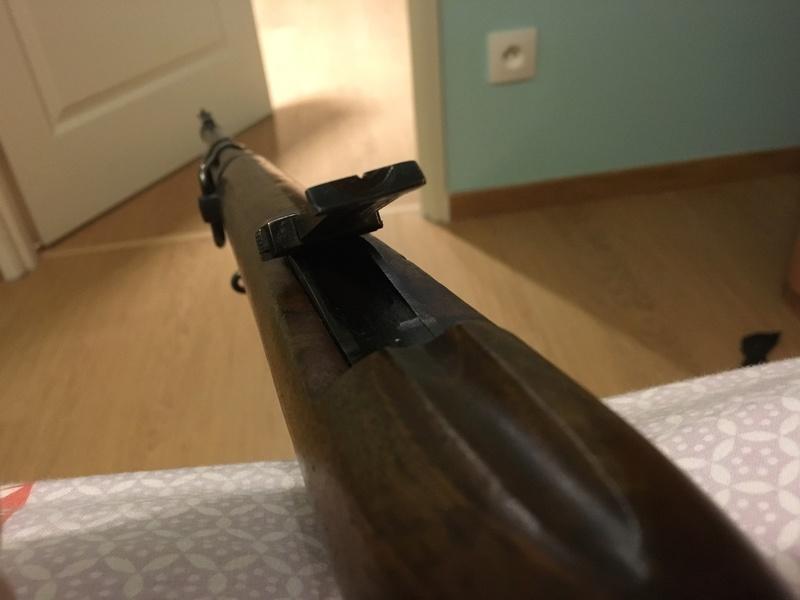 """Mon premier jouet, Mauser M43 """"la Coruna"""" - Page 2 Img_0111"""