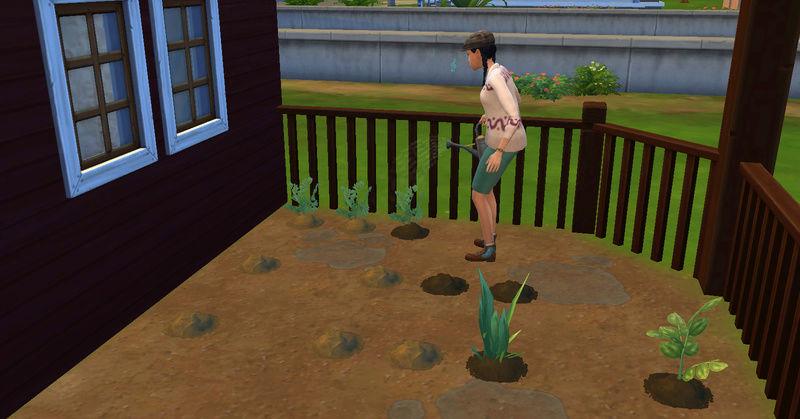 [Abandon] Challenge Jardin-Ecolo-Sims : Les Laterre ! 09-07-16