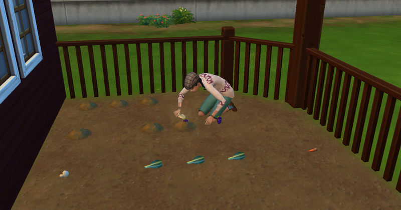 [Abandon] Challenge Jardin-Ecolo-Sims : Les Laterre ! 09-07-25