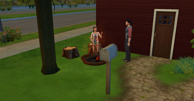 [Challenge Jardin-Ecolo-Sims] Les Laterre ! 14-08-10