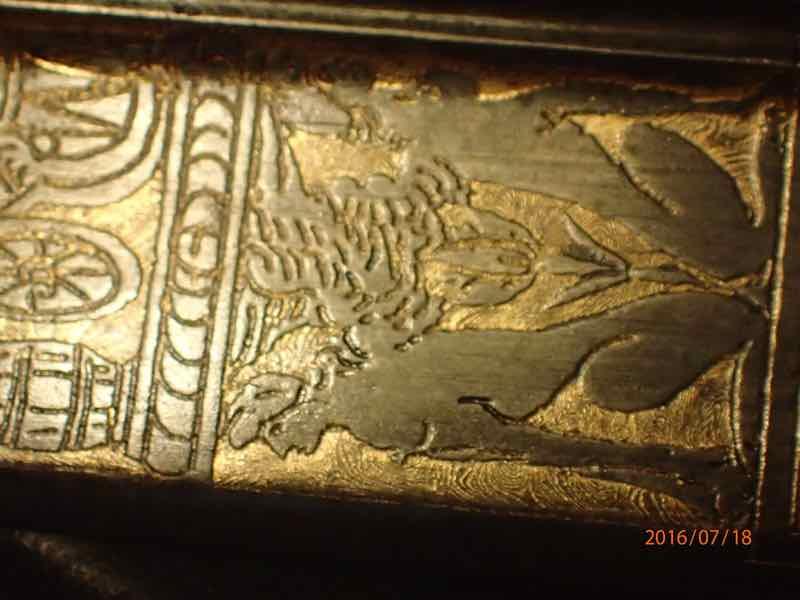 curieux sabre de KLINGENTHAL lame en damas P7180251