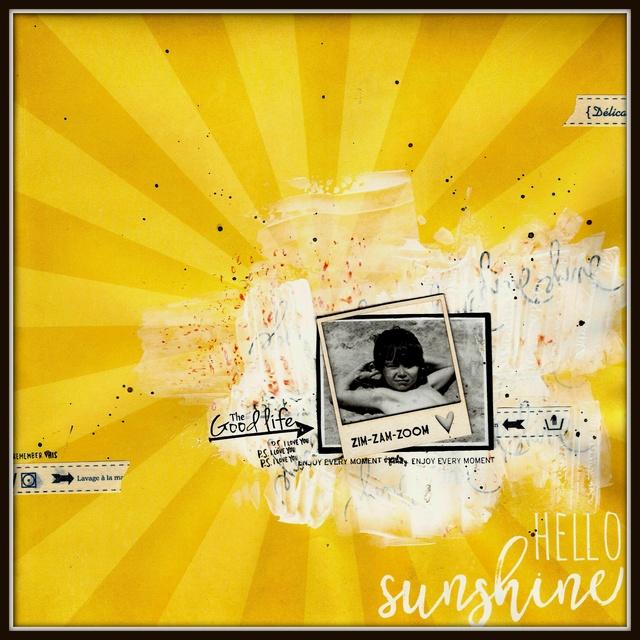 Défi surprise ...... Sunshi10